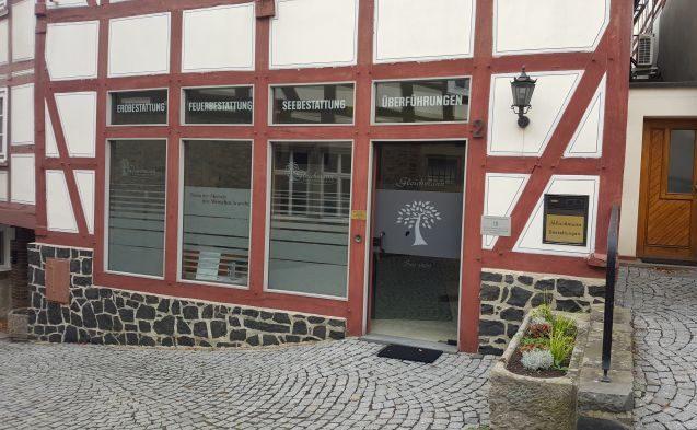 Außenansicht Institut in Homberg